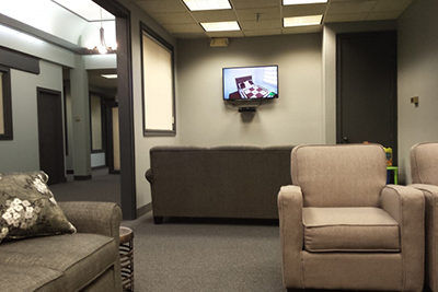Mankato Waiting area Mental Health